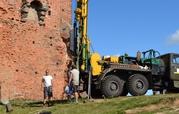 Геологичесские исследования почвы под строительство
