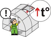 Сверхпрочная оцинкованная теплица «Сибирская АвтоИнтеллект» 10x3x2