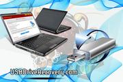 USB диск восстановления данных инструмента