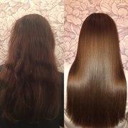 Кератиновое выпрямление волос в Молодечно