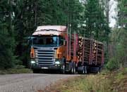 Услуги лесовозов Scania с гидро манипулятором 40м3
